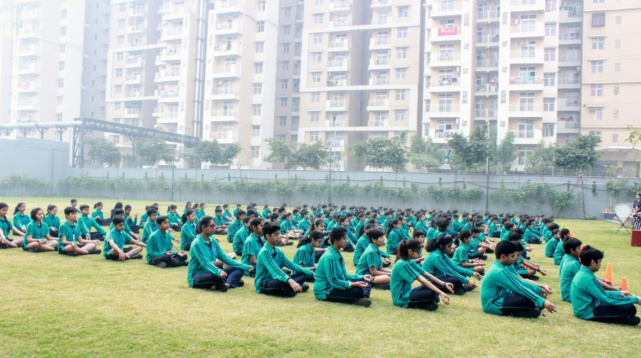 school near gaur city