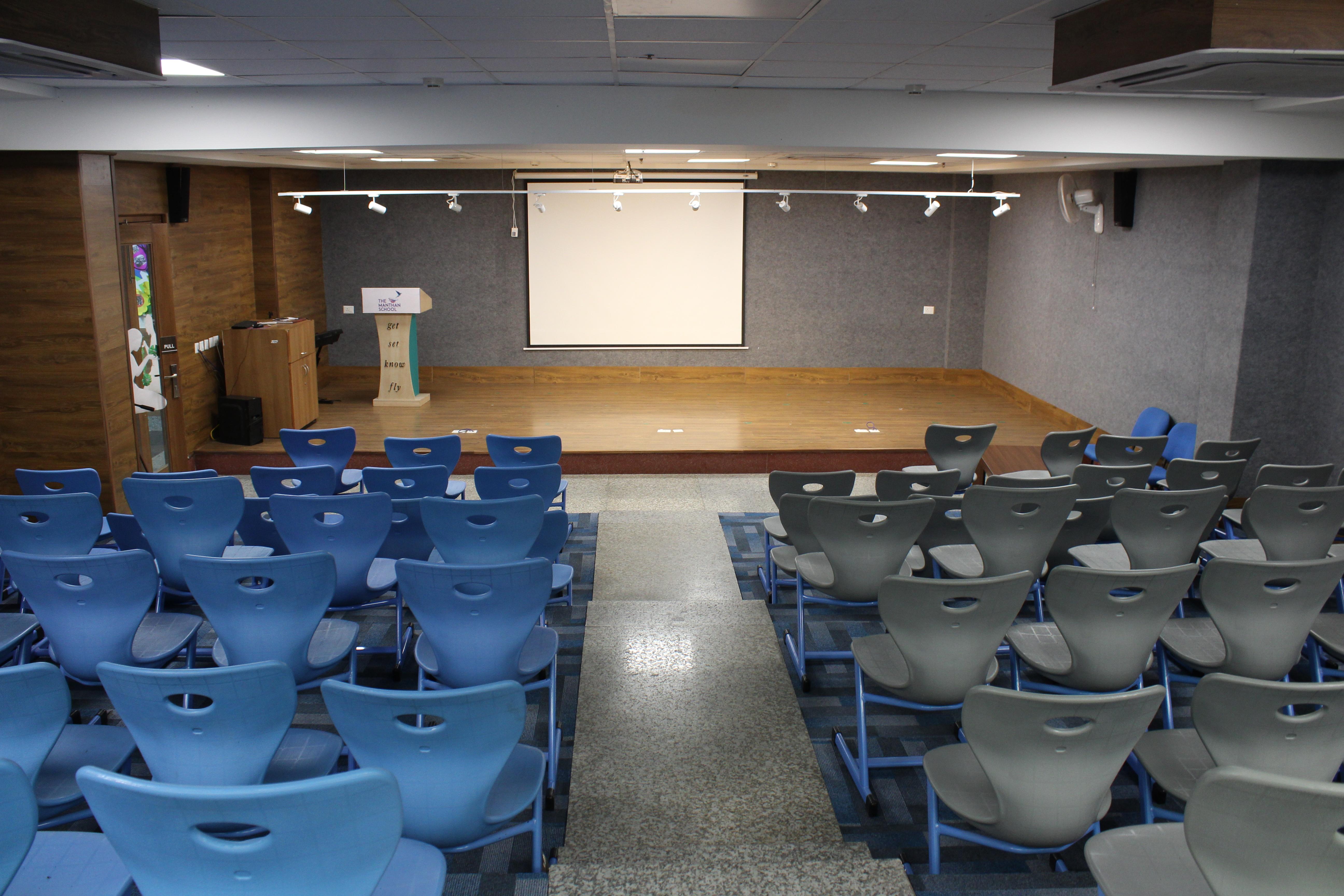 Audio Visual Room The Manthan School